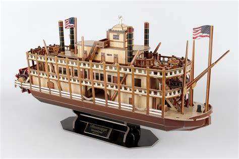 Puzzle Boat by Mississippi Steamboat Jigsaw Puzzle Puzzlewarehouse