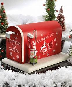 1000 images about holiday on pinterest ceramics With letters to santa mailbox decoration