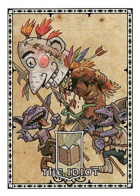 pathfinder harrow deck generator card goblin harrow idiot mask paizo pathfinder