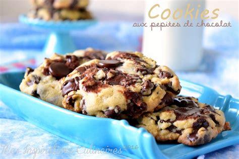 recette de cuisine cookies recette cookies aux pépites de chocolat le cuisine