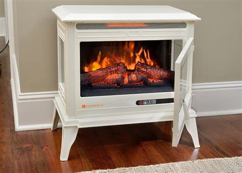 comfort smart jackson cream infrared electric fireplace