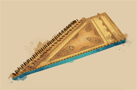 The oud (also spelled 'ud) is one of the most popular instruments in arabic music. Arabic music instruments on Behance