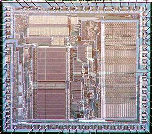 Diagram Of Motorola 68000 Microprocessor