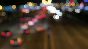 Blurry Defocussed Car Lights Stock Footage Video 5171327 ...