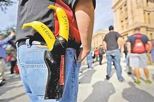 Texas Set to Approve Open Carry of Handguns - WSJ