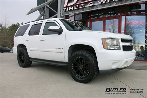 chevrolet tahoe   black rhino mint wheels