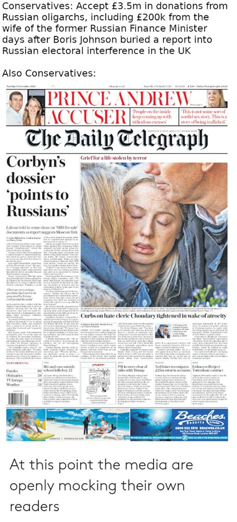 Conservatives Accept £35m in Donations From Russian ...