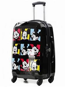 Valise Enfant Fille : valise enfant disney mickey minnie 60 cm noir 30110 2no 60 ~ Teatrodelosmanantiales.com Idées de Décoration