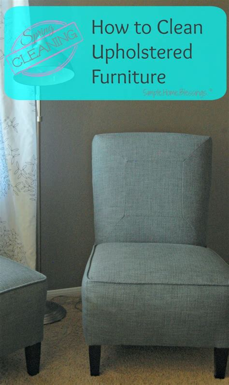 Clean Chair Upholstery by How To Clean Upholstered Furniture Ask