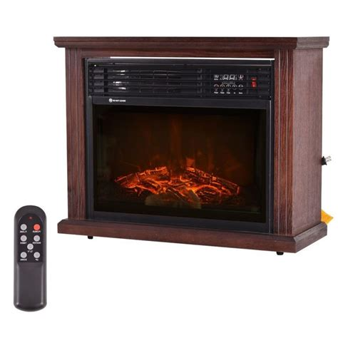standing electric fireplace ideas