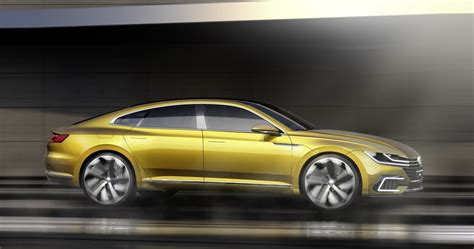 new vw sport coupe concept gte slots between passat and