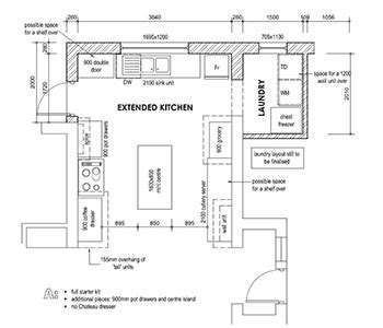floor plan of kitchen with dimensions downloadable kitchen layout planner south africa 9678