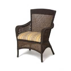 grand traverse outdoor vinyl dining arm chair by lloyd