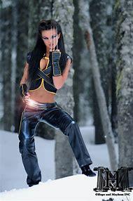 Female Wolverine Cosplay