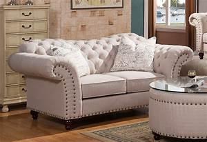 walton, classic, sweetheart, button, tufted, sofa, , u0026, loveseat, set, in, beige, linen