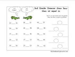 this greater than less than worksheet will help your child