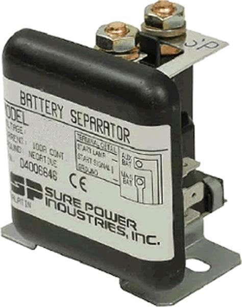 battery isolators 12 volt 12 volt 24 volt dc