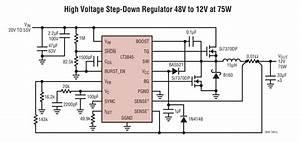 Lt3845  High Voltage Step