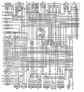 Mercedes-benz 300e  1992  - Wiring Diagrams - Igniition