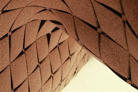 cork architecture laser cut cork surfaces architect magazine