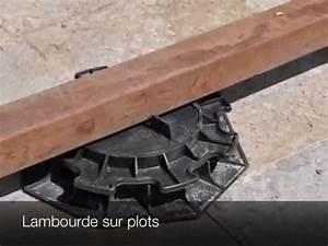 Terrasse En Composite : construction terrasse bois composite youtube ~ Melissatoandfro.com Idées de Décoration