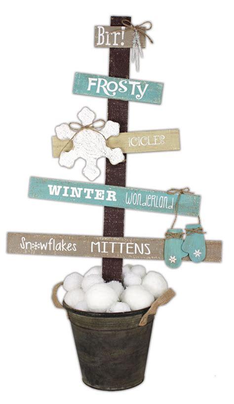 winter wonderland pallet tree crafts direct