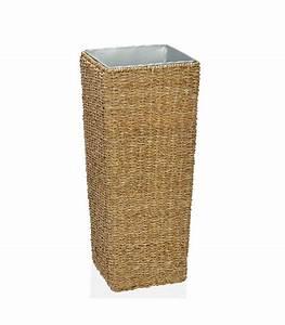 Cache Pot Sur Pied : grand cache pot sur pied en rotin ~ Premium-room.com Idées de Décoration