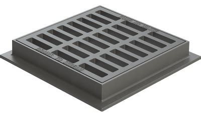 Catch Basin Grates   Available in Square, Round