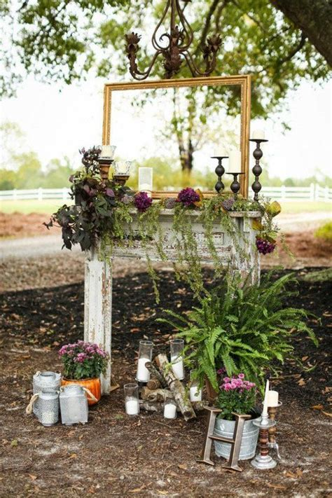 Amazing Rustic Outdoor Wedding Ideas From Pinterest