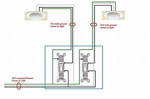 Circuit Diagram For 2 Way Light Switch
