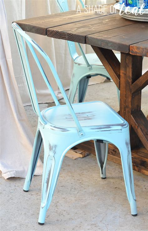 finding the chairs for a rustic farmhouse table