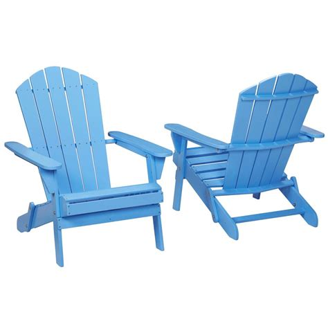 periwinkle folding outdoor adirondack chair 2 pack 2 1