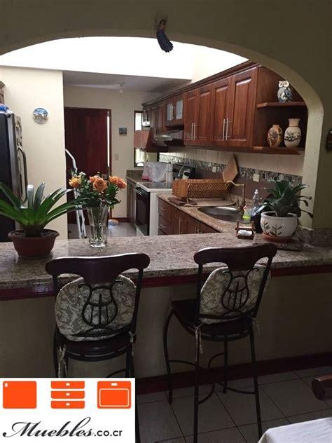 mueble de cocina  desayunador de granito natural