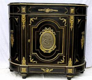 grand meuble d39appui buffet epoque napoleon iii vers With meuble boulle napoleon 3