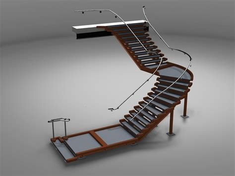 spiral stair stairs in advance steel civil engineering software solutions
