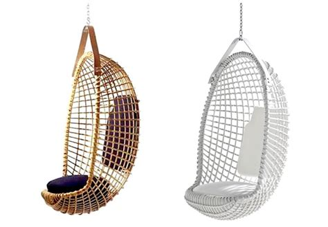 Hanging Chair Ikea Egg by 10 Easy Pieces Hanging Chairs Gardenista