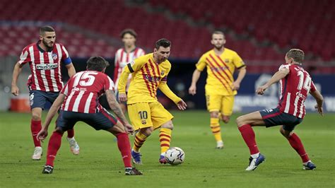 Atletico beat Barcelona in league for first time in a ...