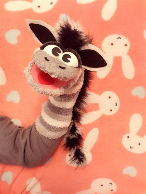 zebra sock puppet sock puppets puppets diy diy sock