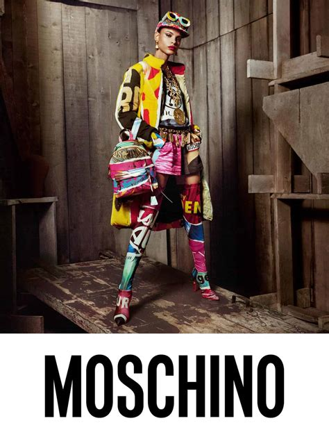 steven meisel lenses moschinos fall campaign