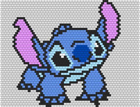 Stitch From Lilo And Stitch Peyote Bead Pattern