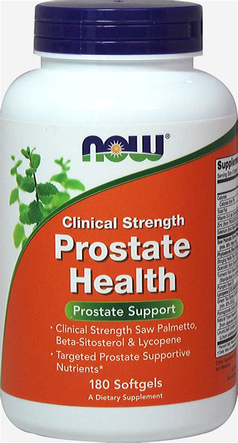 Prostate Health Clinical Strength 180 Softgels | Men's
