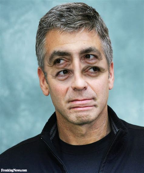 funny clooney pictures freaking news
