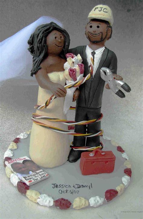 wedding cake toppers african american wedding cake