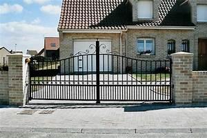 Portail Sur Mesure : amboise portail aluminium sur mesure europortail ~ Melissatoandfro.com Idées de Décoration