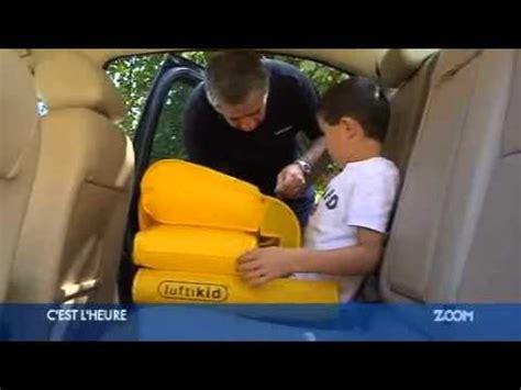 siege gonflable cocoon canalzoom télévision locale le luftikid siège auto pour