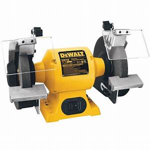 DEWALT 8 in 205 mm Bench Grinder-DW758 - The Home Depot