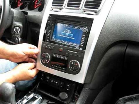 remove radio navigation dvd   gmc