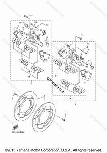 Yamaha Motorcycle 2007 Oem Parts Diagram For Front Brake