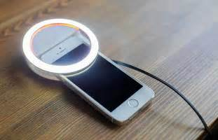 ring light for iphone the is a ring light for capturing selfies on