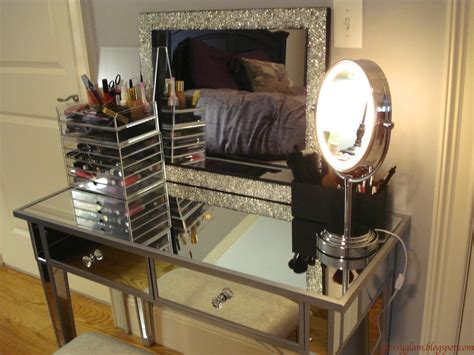 makeup vanity table with lighted mirror makeup vanity table with lights homesfeed